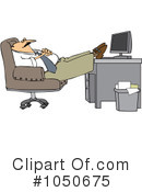 Royalty-Free (RF) Businessman Clipart Illustration #1050675