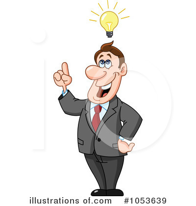 Businessman Clipart #1053639 by yayayoyo