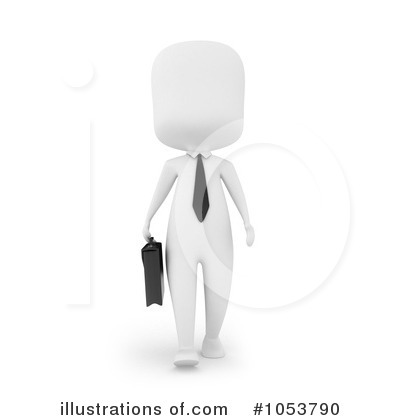 Royalty-Free (RF) Businessman Clipart Illustration by BNP Design Studio - Stock Sample #1053790