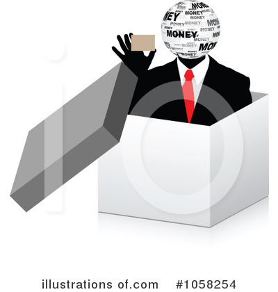 Business Clipart #1058254 by Andrei Marincas