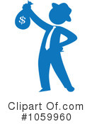 Royalty-Free (RF) businessman Clipart Illustration #1059960
