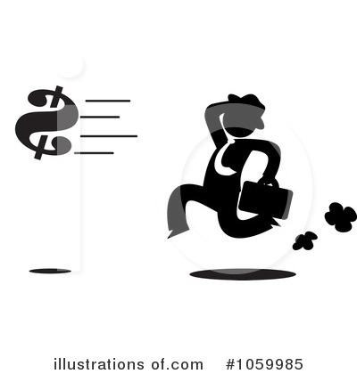Royalty-Free (RF) Businessman Clipart Illustration by Rosie Piter - Stock Sample #1059985