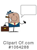 Businessman Clipart #1064288 by Hit Toon