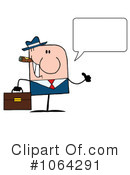 Businessman Clipart #1064291 by Hit Toon