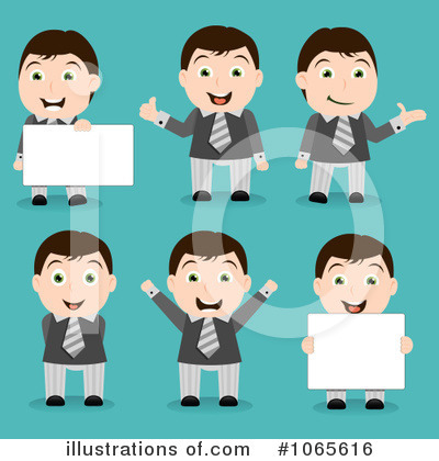 Business Card Clipart #1065616 by vectorace