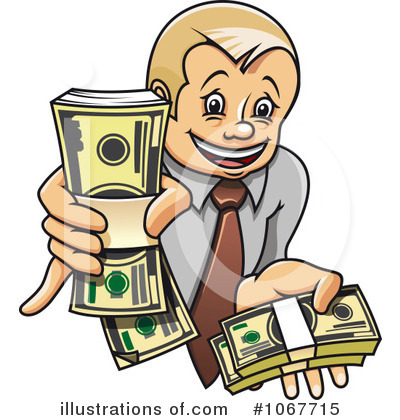 Money Clipart #1067715 by Vector Tradition SM