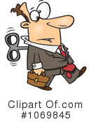 Businessman Clipart #1069845 by toonaday