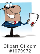 Businessman Clipart #1079972 by Hit Toon