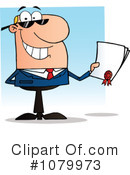 Businessman Clipart #1079973 by Hit Toon
