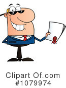 Businessman Clipart #1079974 by Hit Toon