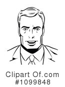 Royalty-Free (RF) businessman Clipart Illustration #1099848