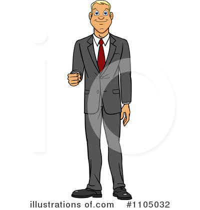 Businessman Clipart #1105032 by Cartoon Solutions