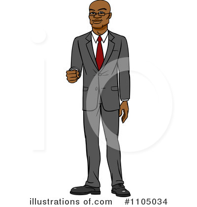 Businessman Clipart #1105034 by Cartoon Solutions