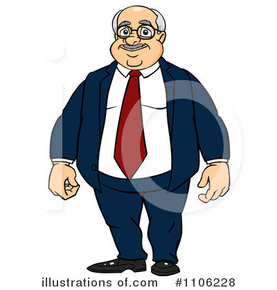 Businessman Clipart #1106228 by Cartoon Solutions