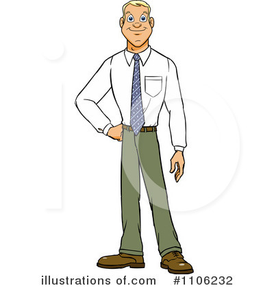 Businessman Clipart #1106232 by Cartoon Solutions