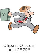 Royalty-Free (RF) Businessman Clipart Illustration #1135726