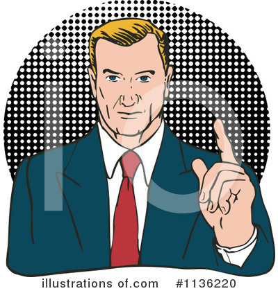 Businessman Clipart #1136220 by patrimonio