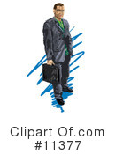 Royalty-Free (RF) businessman Clipart Illustration #11377