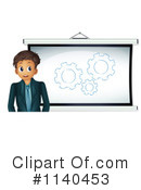 Royalty-Free (RF) businessman Clipart Illustration #1140453