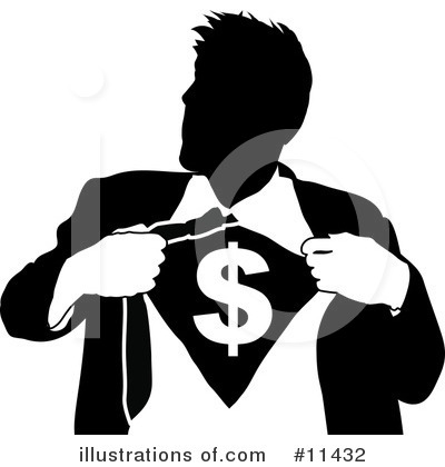 Dollar Symbol Clipart #11432 by AtStockIllustration