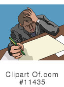Royalty-Free (RF) Businessman Clipart Illustration #11435