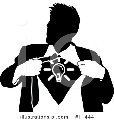 Light Bulb Clipart #11444 by AtStockIllustration
