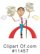 Royalty-Free (RF) Businessman Clipart Illustration #11457