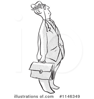 Businessman Clipart #1146349 by Picsburg