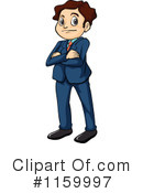 Businessman Clipart #1159997 by Graphics RF