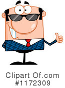 Businessman Clipart #1172309 by Hit Toon