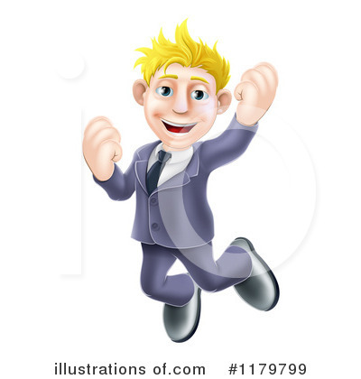 Business Man Clipart #1179799 by AtStockIllustration