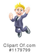 Royalty-Free (RF) Businessman Clipart Illustration #1179799