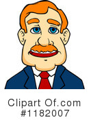 Businessman Clipart #1182007 by Vector Tradition SM