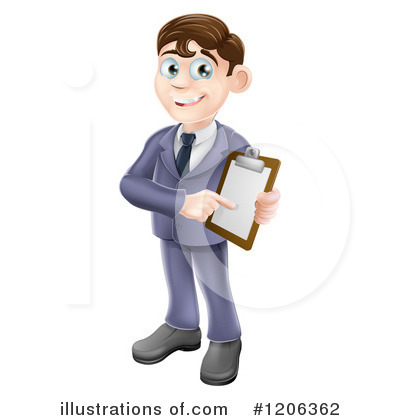 Businessman Clipart #1206362 by AtStockIllustration