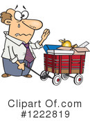 Royalty-Free (RF) Businessman Clipart Illustration #1222819