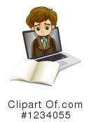 Businessman Clipart #1234055 by Graphics RF