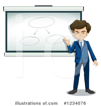 Office Clipart #1234076 by Graphics RF