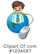 Businessman Clipart #1234087 by Graphics RF