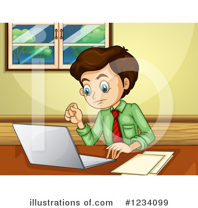 Office Clipart #1234099 by Graphics RF