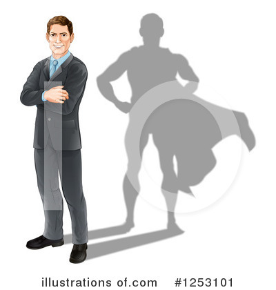 Businessman Clipart #1253101 by AtStockIllustration