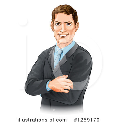 Businessman Clipart #1259170 by AtStockIllustration