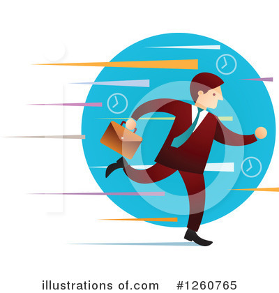 Businessman Clipart #1260765 by Qiun