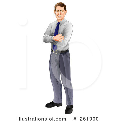 Businessman Clipart #1261900 by AtStockIllustration