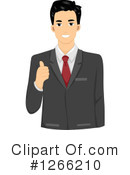 Businessman Clipart #1266210 by BNP Design Studio