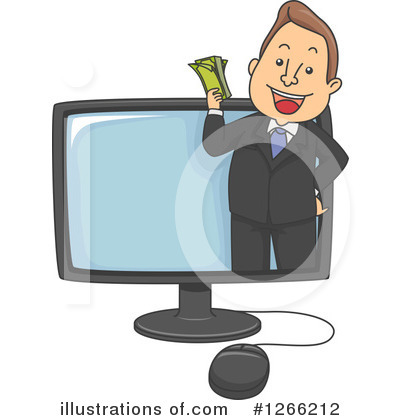 Business Man Clipart #1266212 by BNP Design Studio