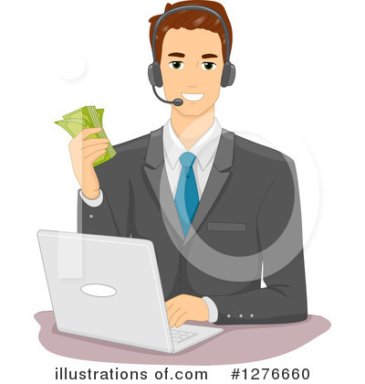 Royalty-Free (RF) Businessman Clipart Illustration by BNP Design Studio - Stock Sample #1276660
