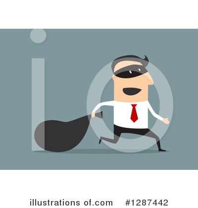 Robber Clipart #1287442 by Vector Tradition SM
