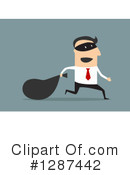 Royalty-Free (RF) Businessman Clipart Illustration #1287442