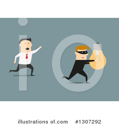 Robber Clipart #1307292 by Vector Tradition SM