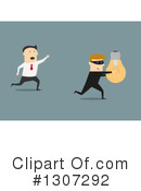 Royalty-Free (RF) Businessman Clipart Illustration #1307292